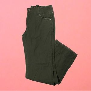 NWT Wet Seal size 13 green pants
